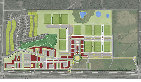 Gateway Village Site Plan